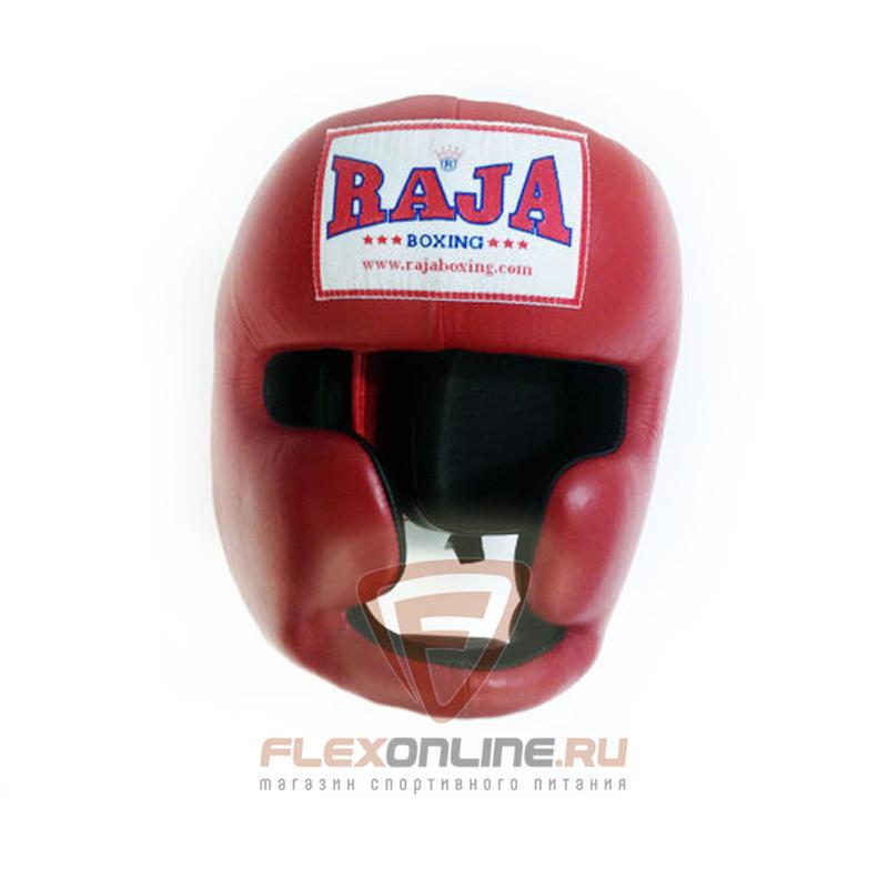 Шлемы Боксёрский шлем тренировочный L красный от Raja