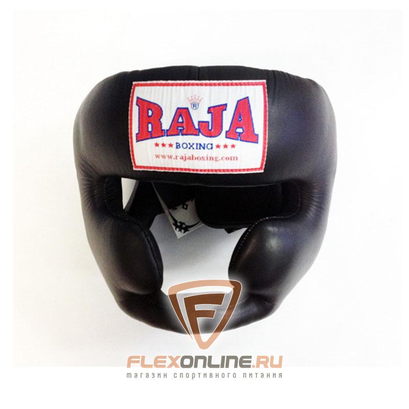 Шлемы Боксёрский шлем тренировочный XL чёрный от Raja
