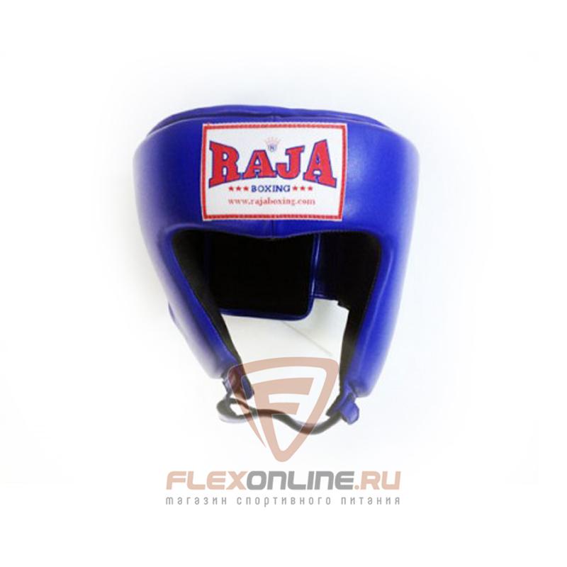 Шлемы Боксёрский шлем соревновательный L синий от Raja