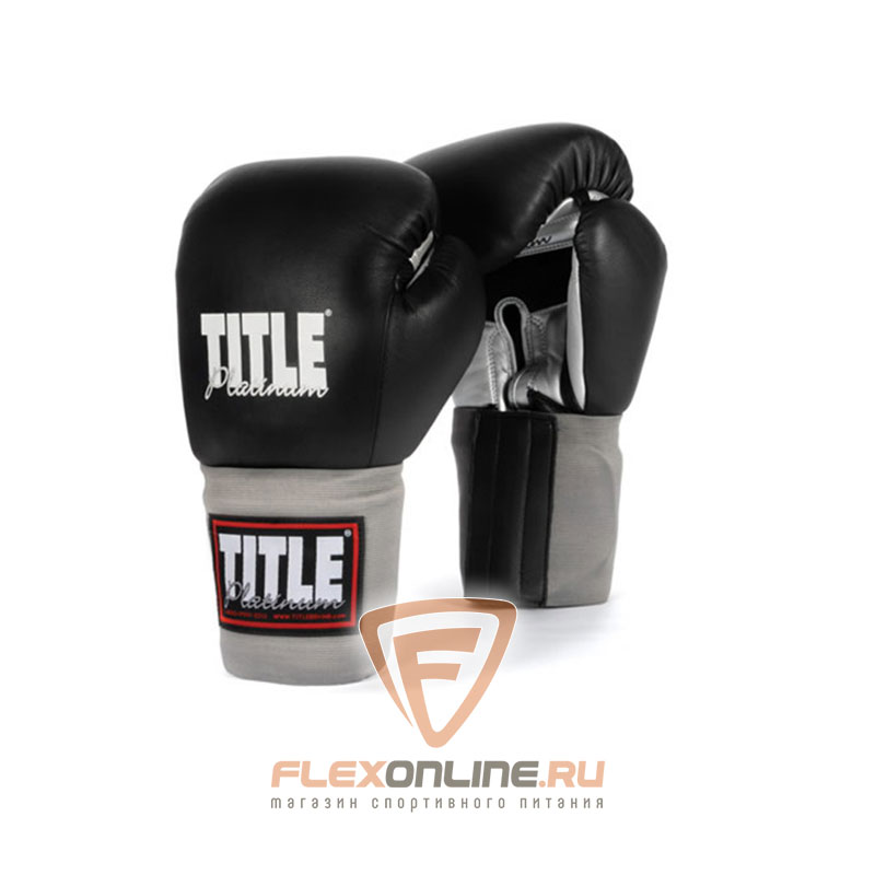 Боксерские перчатки Перчатки боксерские тренировочные 16 унций от Title
