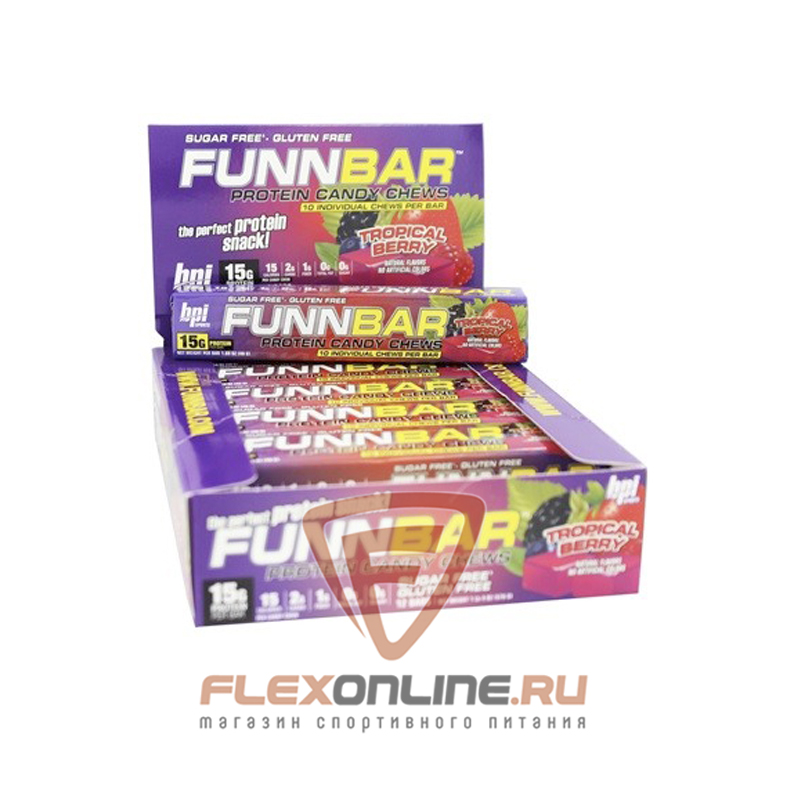 Шоколадки FUNNBAR от BPI