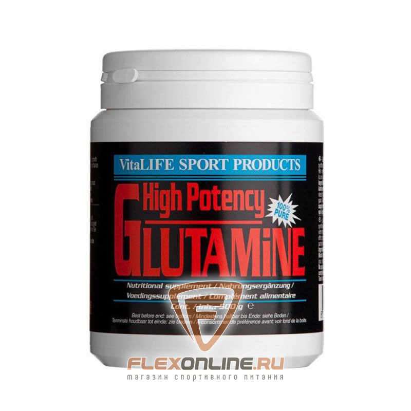 L-глютамин High Potency Glutamine от VitaLife