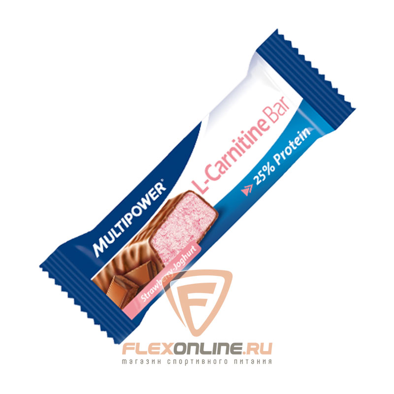 Шоколадки L-Carnitine Bar от Multipower