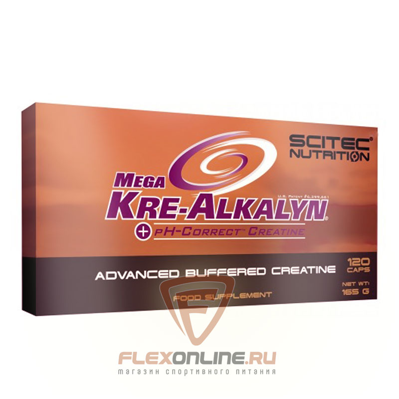 Креатин Mega Kre-Alkalyn от Scitec