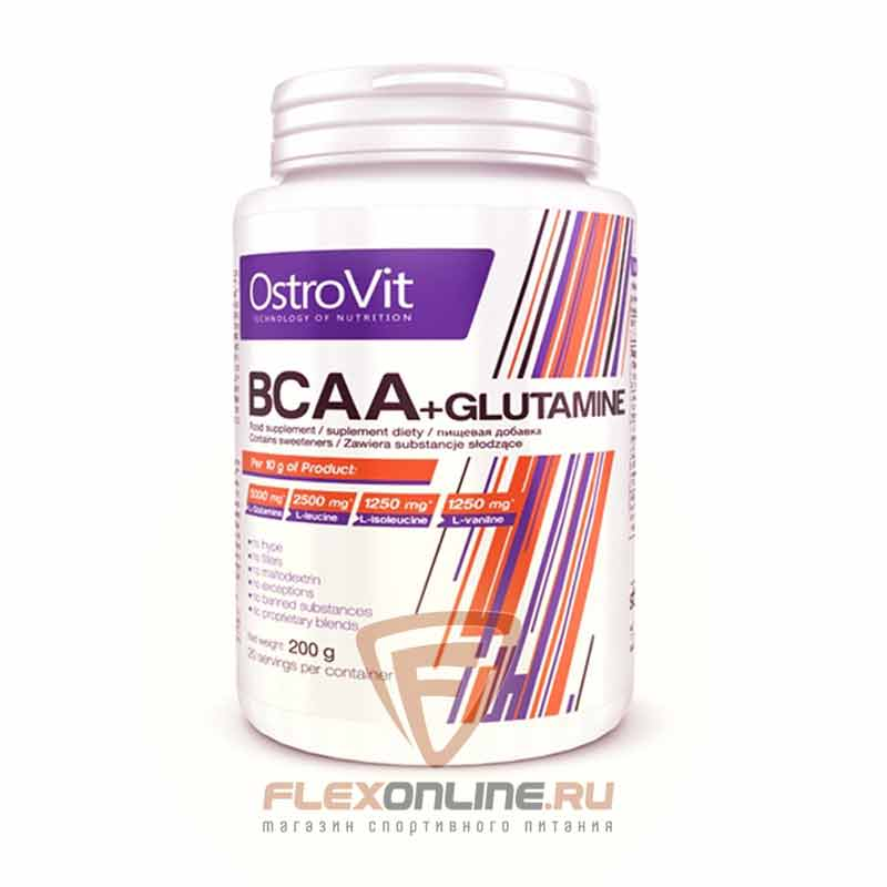 BCAA BCAA + Glutamine от OstroVit