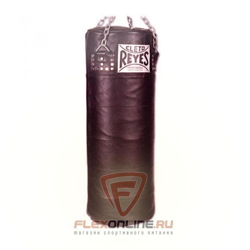 Груши и мешки Боксерский мешок, пустой, размер L, черного цвета кожа от Cleto Reyes