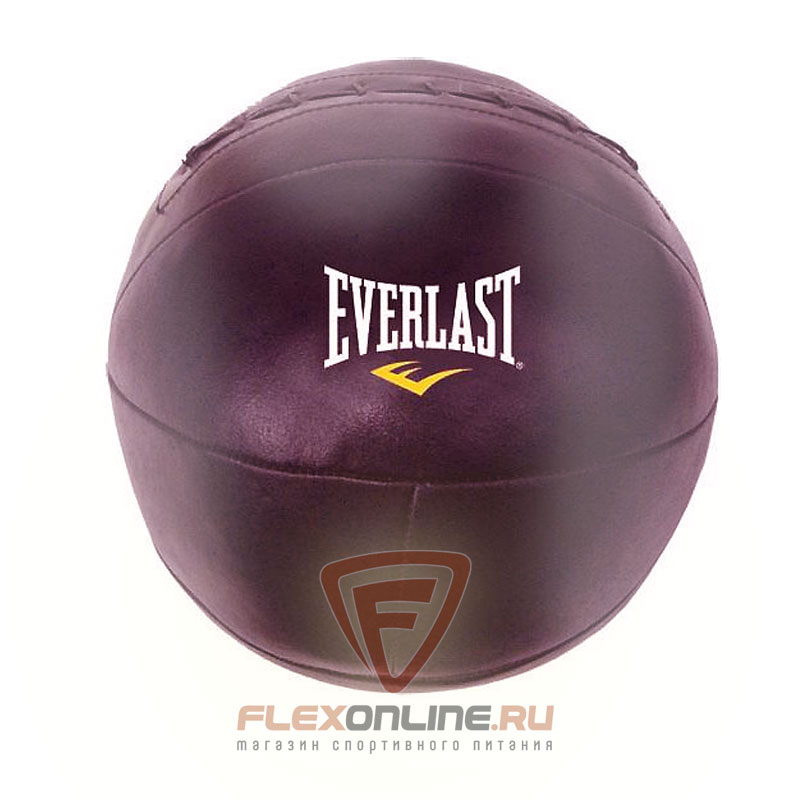 Медицинболы Медицинбол, кожа, чёрн., 4кг от Everlast