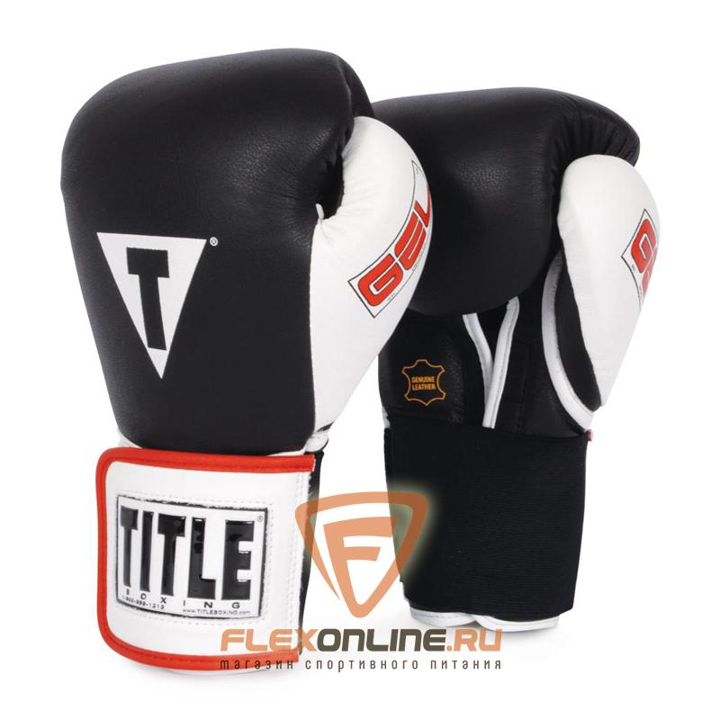 Боксерские перчатки Перчатки боксерские тренировочные 12 унций от Title