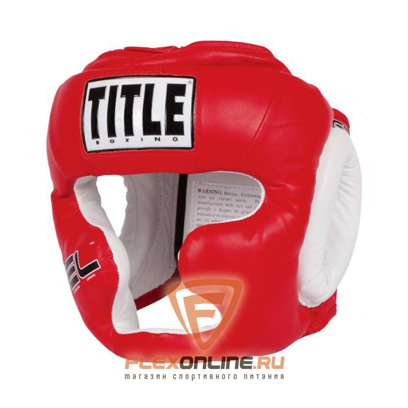 Шлемы Боксерский шлем тренировочный красный REG от Title