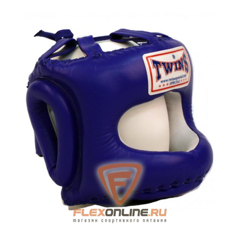 Шлемы Шлем тренировочный закрытый L синий от Twins