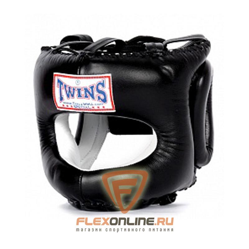 Шлемы Шлем тренировочный закрытый М черный от Twins