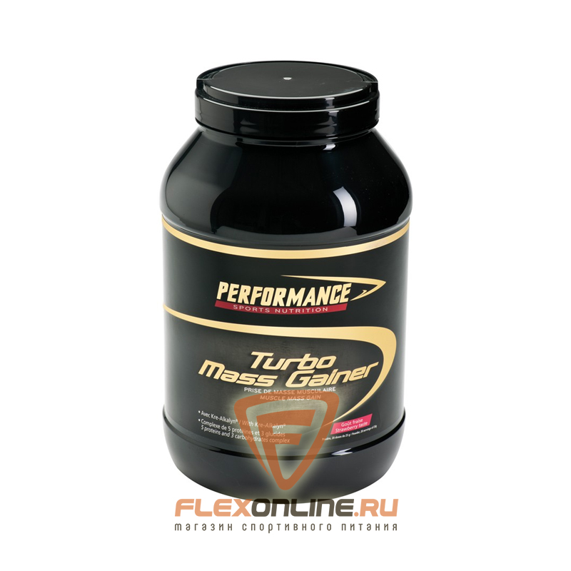 Гейнер Turbo Mass Gainer от Performance