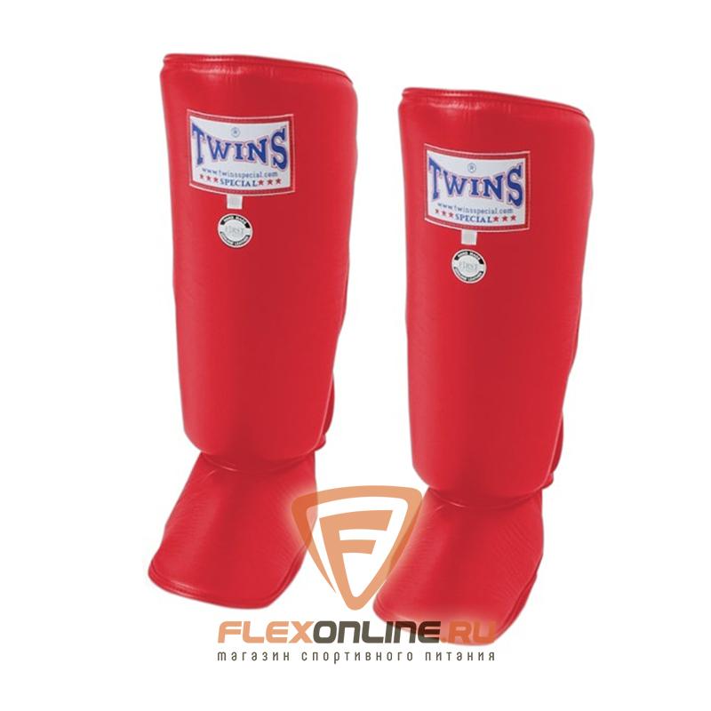 Защита тела Защита голени S красная от Twins