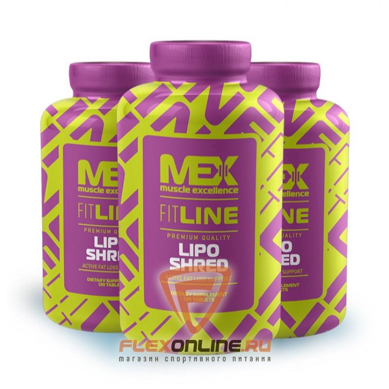 Жиросжигатели Lipo Shred от MEX