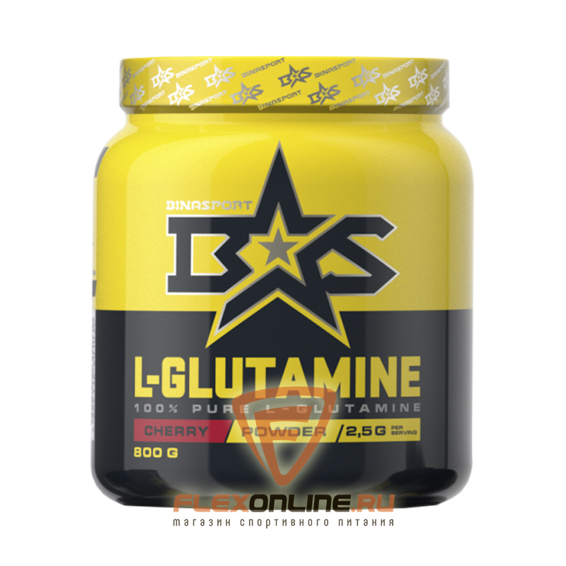 L-глютамин L-glutamine Powder от Binasport