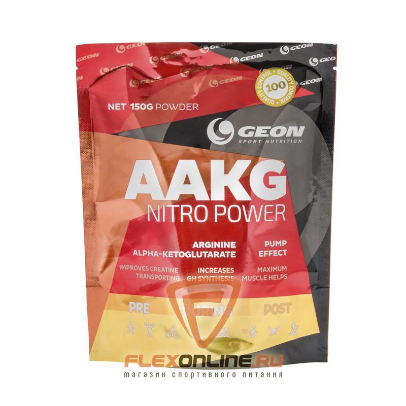 Предтреники AAKG nitro power от GEON