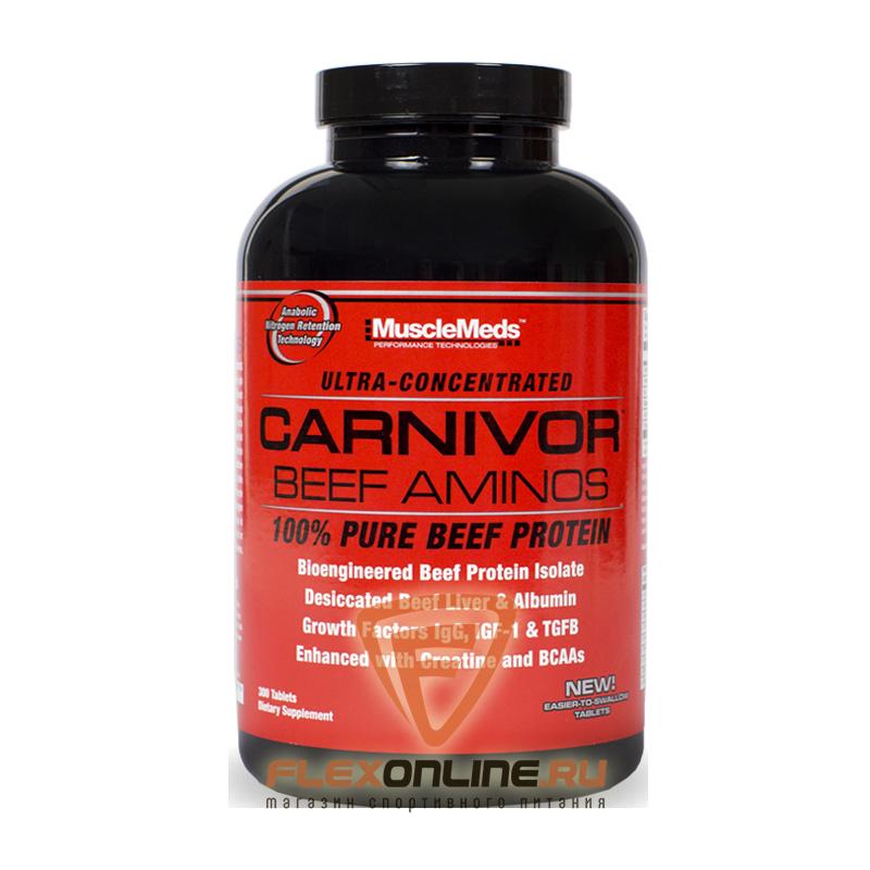 Аминокислоты Carnivor Beef Aminos от MuscleMeds