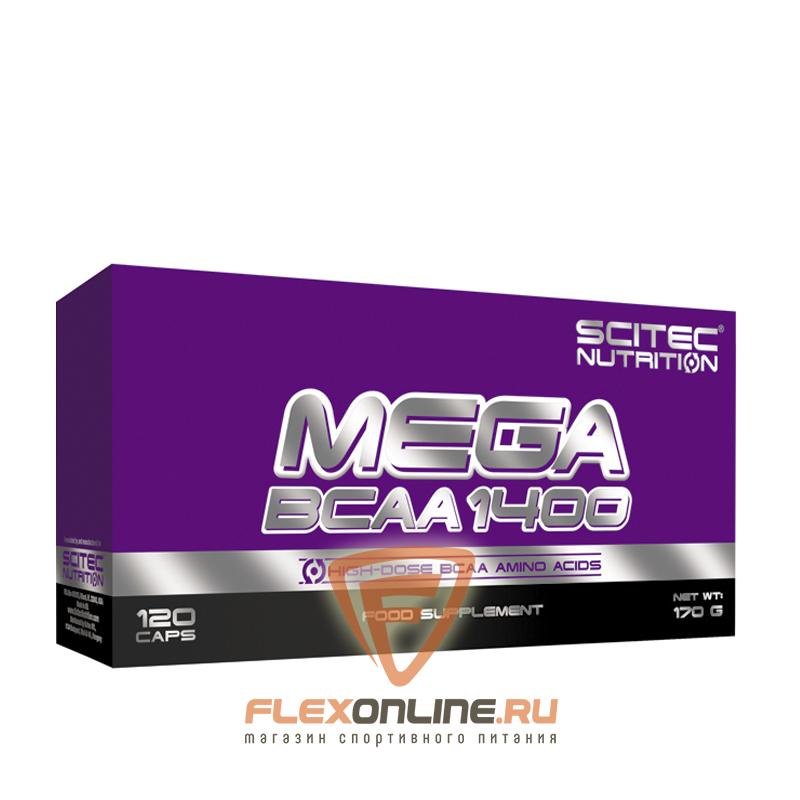 BCAA Mega BCAA 1400 от Scitec
