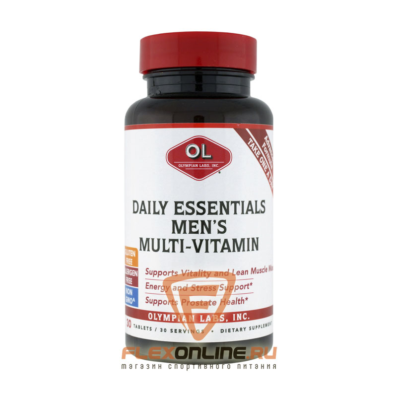 Витамины Daily Essential Mens multi-vitamin от Olympian Labs
