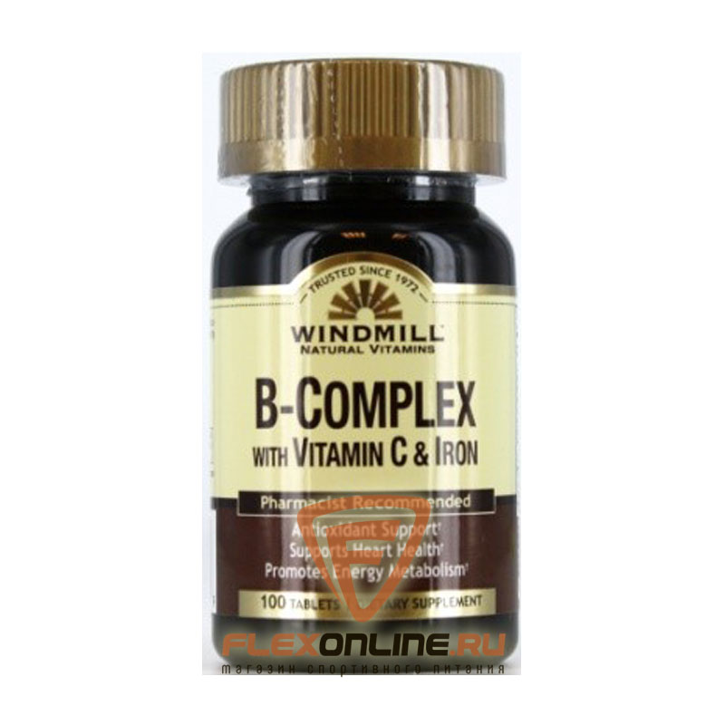 Windmill B-Complex with Vitamin C & Iron