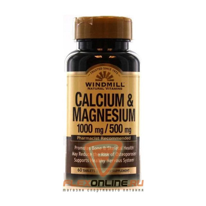 Витамины Calcium & Magnesium 1000mg/500mg от Windmill