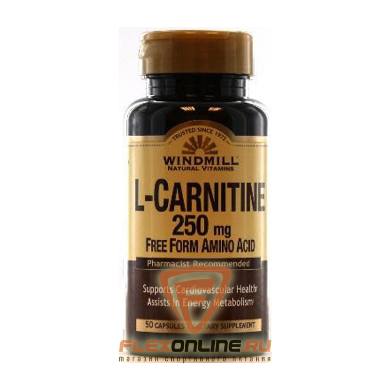 Windmill L-Carnitine 250mg