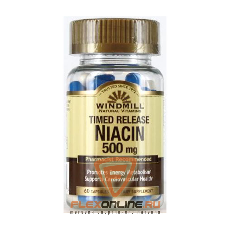 Windmill Timed release Niacin 500mg