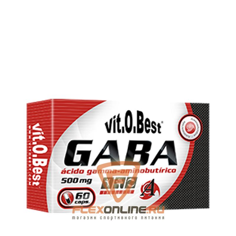 Аминокислоты GABA 500 mg от Vit.O.Best