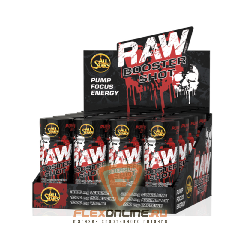 All Stars Raw Booster Shot