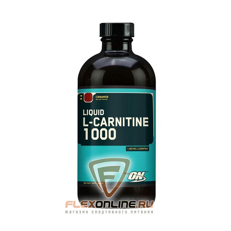 L-карнитин Liquid L-Carnitine 1000 от Optimum Nutrition