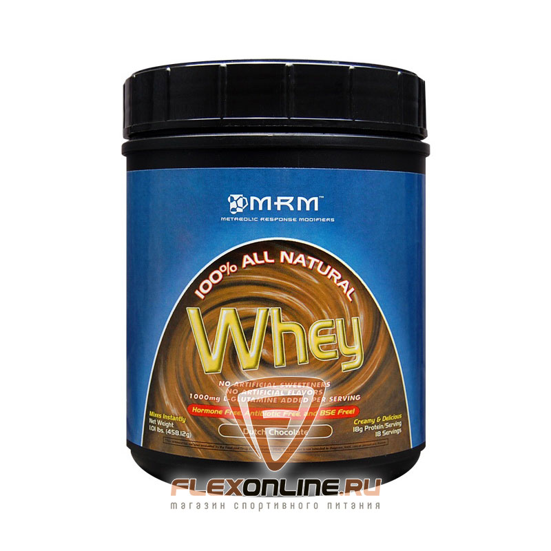 Протеин 100% All Natural Whey от MRM