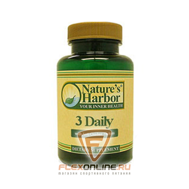 Витамины 3 Daily от Nature