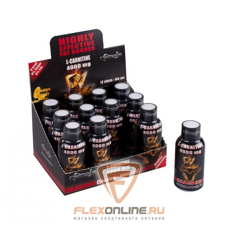 Nanox L-carnitine Shot 4000