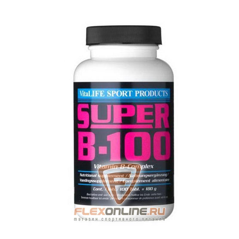 Витамины Super B-100 от VitaLife