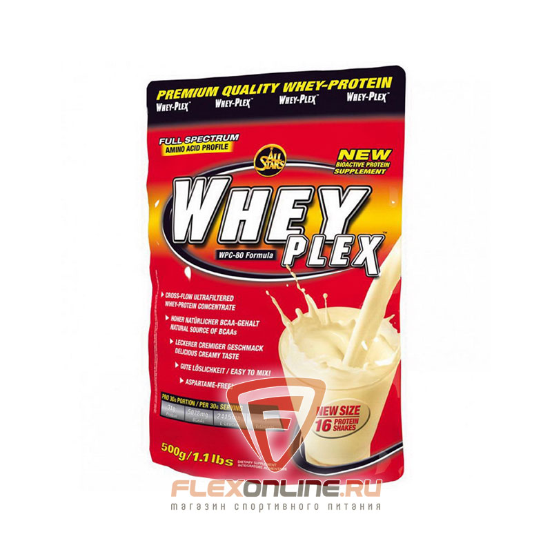 Протеин Whey Plex от All Stars