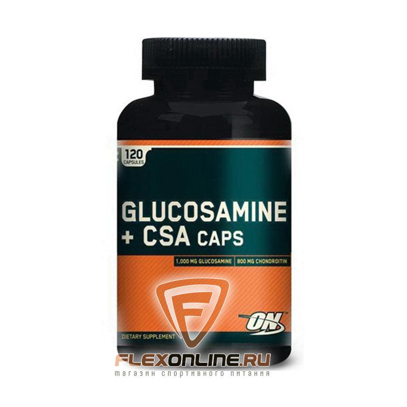 Суставы и связки Glucosamine plus CSA от Optimum Nutrition