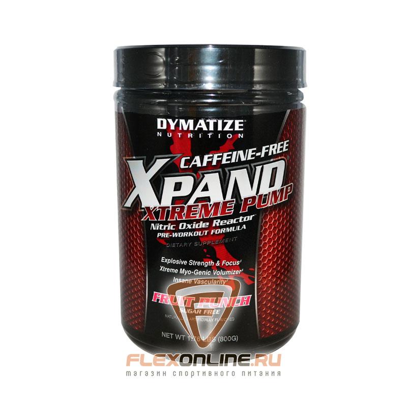 Предтреники Xpand Extreme Pump Caffeine Free от Dymatize