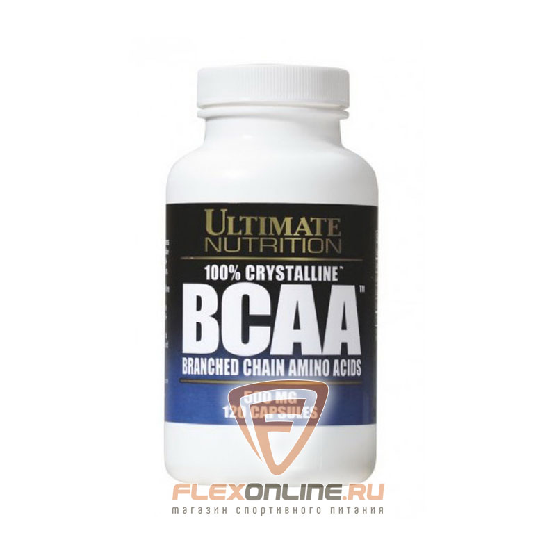 BCAA 100% Crystalline BCAA от Ultimate Nutrition