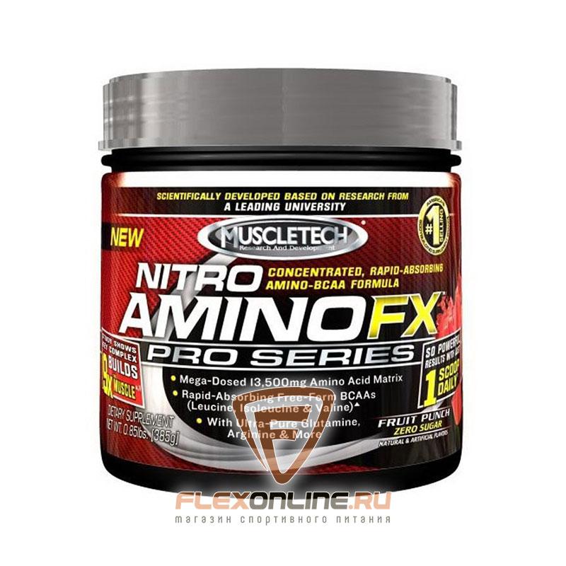 Аминокислоты Nitro Amino FX Pro Series от MuscleTech