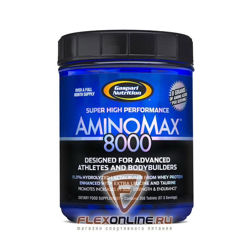 Аминокислоты Amino Max 8000 от Gaspari