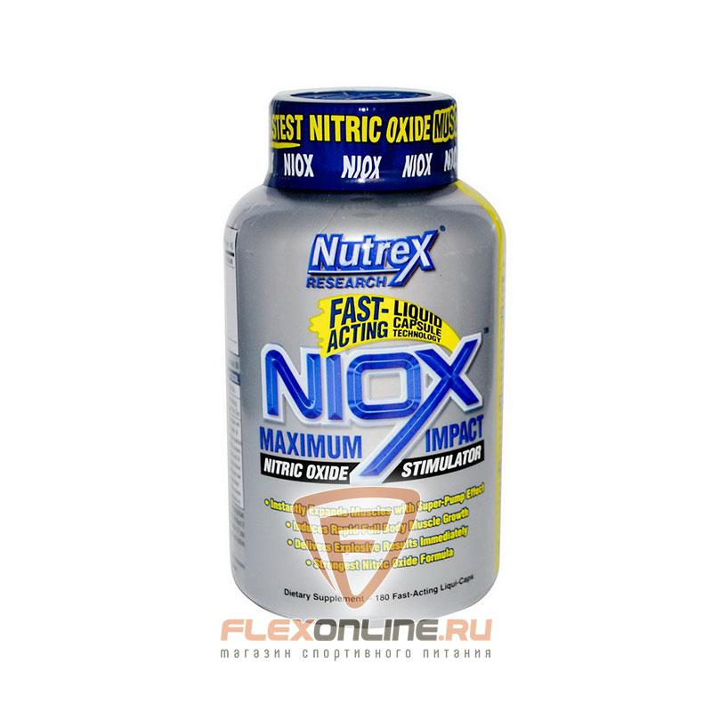 Предтреники NIOX от Nutrex