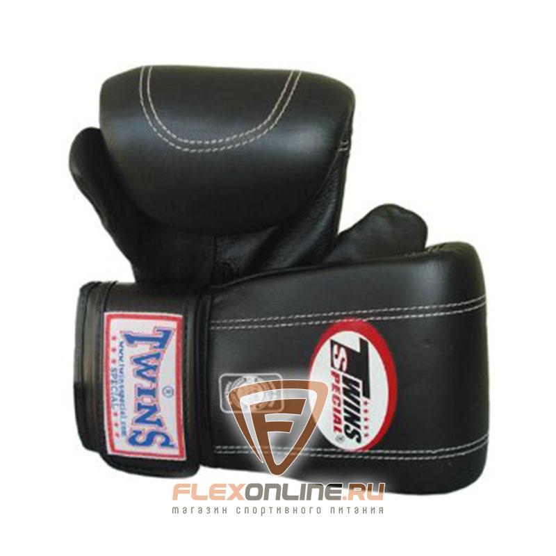 Cнарядные перчатки Перчатки снарядные на липучке  XL чёрные от Twins