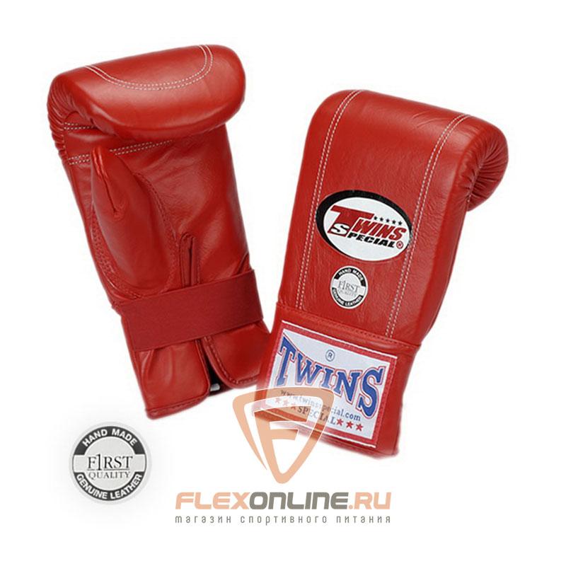 Cнарядные перчатки Перчатки снарядные на резинке  S красные от Twins