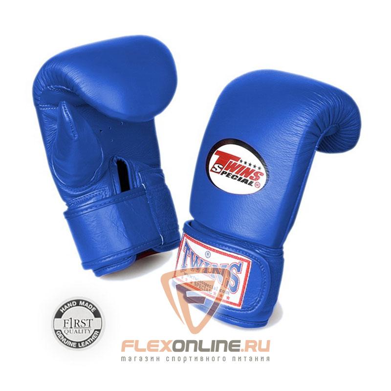 Cнарядные перчатки Перчатки снарядные тренировочные на липучке  L синие от Twins