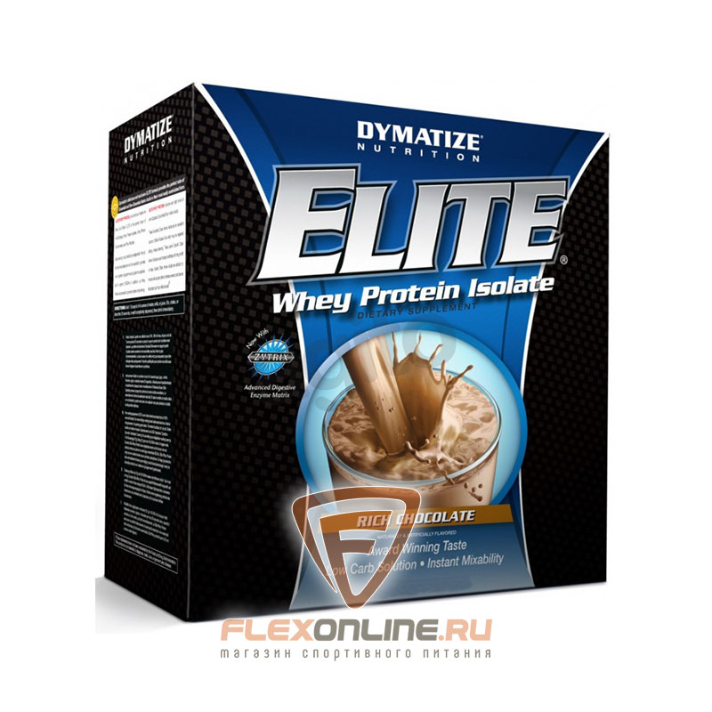 Протеин Elite Whey Protein Isolate от Dymatize