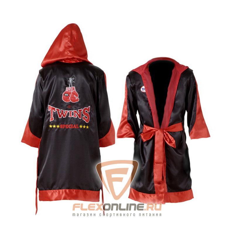 Одежда Халат боксерский с капюшоном от Twins