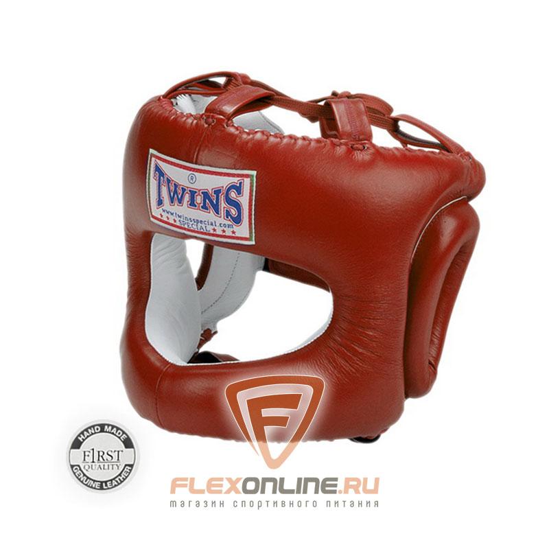 Шлемы Боксерский шлем с дугой M красный от Twins