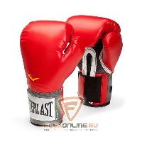 Боксерские перчатки Перчатки боксерские тренировочные Pro Style 10 унций красные от Everlast