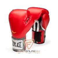 Боксерские перчатки Перчатки боксерские тренировочные Pro Style 12 унций красные от Everlast