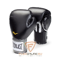 Боксерские перчатки Перчатки боксерские тренировочные Pro Style 12 унций чёрные от Everlast
